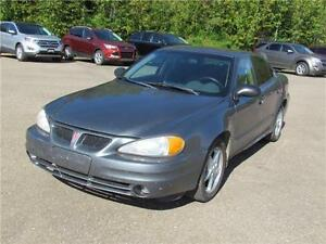 Great 2003 Pontiac Grand Am SE Sedan Car Metallic Blue A/C FOB
