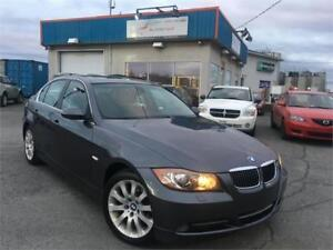 BMW 330Xi 2006 AWD/ AUTO/ CUIR/ MAGS/ TOIT OUVRANT/ AC/ FULL !