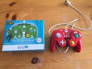 WiiU Battle Pad Remotes - Mario & Luigi
