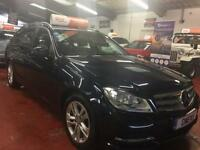 2013 (63) MERCEDES-BENZ C-CLASS 2.1 C220 CDI BLUEEFFICIENCY EXECUTIVE SE 5DR Aut