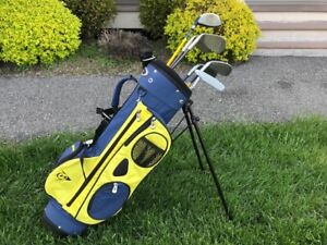 Boys RH Dunlop Golf Set