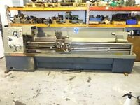 COLCHESTER MASTIFF 1400 GAP BED CENTRE LATHE 100 INCH