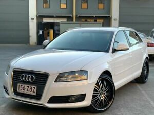 2009 Audi A3 sportsback s tronic ambit White 6 Speed Automatic Hatchback Burleigh Heads Gold Coast South Preview