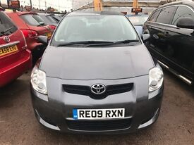 2009 Toyota Auris 1.6 T Spirit Multimode 5dr, AUTOMATIC, FULL TOYOTA SERVICE, 1 OWNER, 2 KEYS,