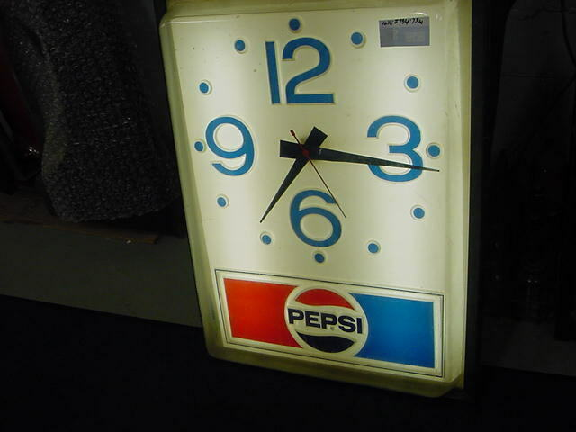 Pepsi Wall Hanging Clock
