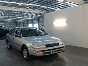 1996 Toyota Corolla AE101R CSi Silver 4 Speed Automatic Sedan Beresfield Newcastle Area Preview