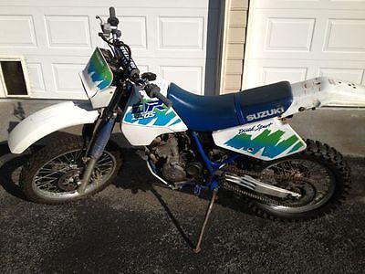 Suzuki : DR 1990 Suzuki DR250S Dual Sport Motorcycle