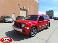 2009 Jeep Patriot Limited, Leather, Sunroof, 56000 kms
