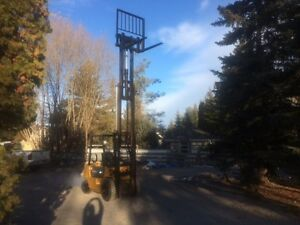 Cat forklift GP25 Edmonton Edmonton Area image 9