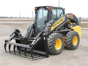 "2015 HLA 72"" Manure Fork with Utility Grapple for Skid Steers"