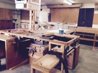 Table Saw with Dust collection system-Woodworkers' Estate sale