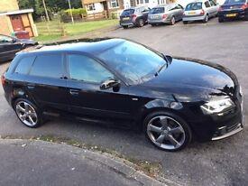Audi A3 2.0 170bhp TDI Black Edition - Fully Loaded SAT NAV & Leathers