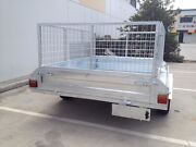 NEW 7x5 CAGED GAL TILT TRAILERS IN STOCK DRIVE AWAY TODAY.... Southport Gold Coast City Preview