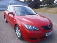MAZDA 3 AUTOMATIC LOW MILES 12 MONTH MOT
