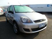 2006 Ford Fiesta WQ LX Silver 4 Speed Automatic Hatchback Heatherton Kingston Area Preview