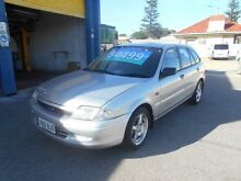 1999 Ford Laser KN LXI Silver 4 Speed Automatic Hatchback Christies Beach Morphett Vale Area Preview