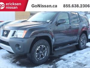 2015 Nissan Xterra PRO-4X- LEATHER, NAVIGATION, HEATED SEATS!