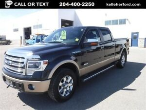 2013 Ford F-150 Lariat SuperCrew 3.5L Navigation Moonroof 157