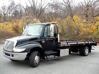 Looking to Drive/operate flatdeck tow truck.