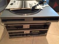 JVC stereo with record player