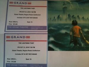 Two tickets to Grand Theatre Kids Show, Oct 21st