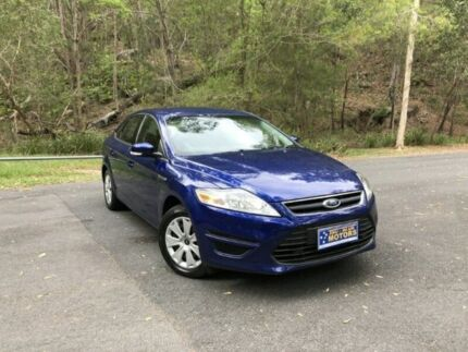 2014 Ford Mondeo MC LX Blue 6 Speed Semi Auto Hatchback Springwood Logan Area Preview