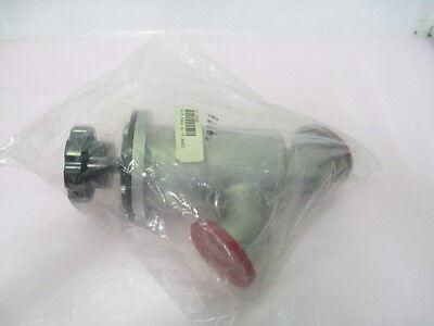 MKS HPS 161-0050K Vacuum Isolation Valve, Manual w/ KF, NW50, 422379