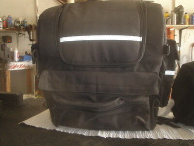 - Hot Leathers Motorcycle Sissy Bar Travel Bag