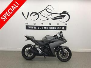 2016 Yamaha YZF-R3- Stock#V2881- Free Delivery in the GTA**