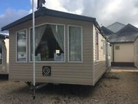 static caravan in the Cotswolds
