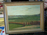 Oil painting on board (landscape,Beaver Valley)