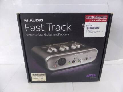 M-AUDIO FAST TRACK DIGITAL INTERFACE - IN BOX - GREAT COND -CHEAP