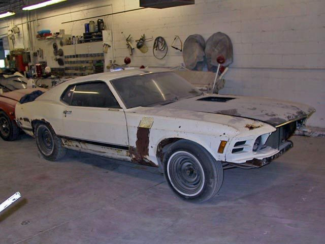 1970 Ford Mustang  1970 Boss 302 Ford Mustang Project - Rusty but very complete - Great Opportunity