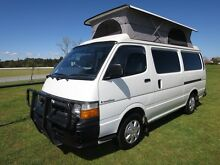 Toyota Hiace Frontline Campervan – IMMACULATE - 5 SEATS Glendenning Blacktown Area Preview