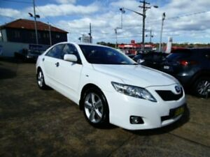 2011 Toyota Camry ACV40R 09 Upgrade Touring SE White 5 Speed Automatic Sedan Five Dock Canada Bay Area Preview