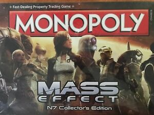 MONOPOLY-MASS EFFECT-N7 COLLECTOR'S ED.NEW-IN WRAPPER