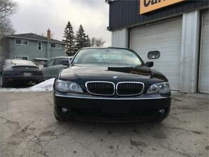 2006 BMW 7 Series 750i clean title, low mileage, financing