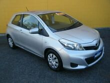 2013 Toyota Yaris NCP130R YR Silver 5 Speed Manual Hatchback Winnellie Darwin City Preview