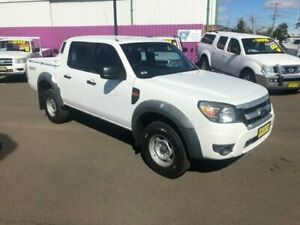 2010 Ford Ranger PK XL (4x4) White 5 Speed Manual Dual Cab Pick-up Dubbo Dubbo Area Preview