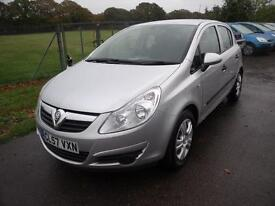 VAUXHALL CORSA BREEZE, Silver, Manual, Petrol, 2007