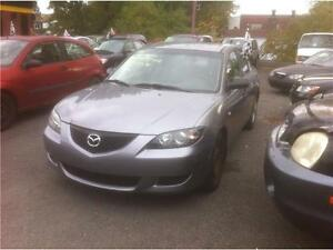 Mazda 3 2005 Automatique Méc.impeccable 1350$ Sam 514-677-4144