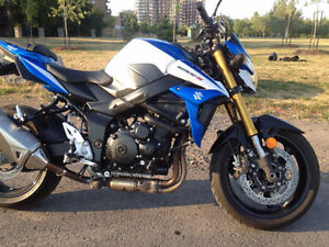 suzuki gsx750s abs 2015 vente ou echange lire description