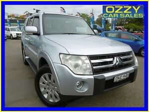 2007 Mitsubishi Pajero NS Exceed LWB (4x4) Silver 5 Speed Auto Sports Mode Wagon Penrith Penrith Area Preview
