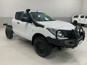 2016 Mazda BT-50 UR0YF1 XT Freestyle White 6 Speed Manual Cab Chassis Kenwick Gosnells Area Preview