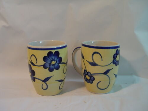 2  MULBERRY STREET COFFEE MUGS EXCELLENT COND. WE COMBINE SHIP!