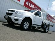 2013 Holden Colorado RG MY13 DX 4x2 White 5 Speed Manual Cab Chassis Avoca Bundaberg City Preview