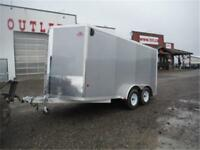 *NEW* All-Aluminum Enclosed Trailers 7 x 14 Cargo - 6K GVWR