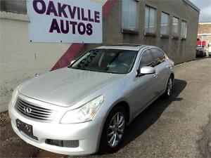 2008 INFINITI G35 Sedan Luxury-navi-rear cam-bluetooth