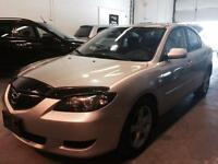 2006 MAZDA 3, Alloys, Sunroof, Auto, Cruise, 2.0 L, GAS SAVER!!