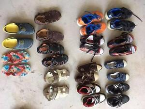 Free Boys shoes various sizes ages 2-6 Kellyville Ridge Blacktown Area Preview